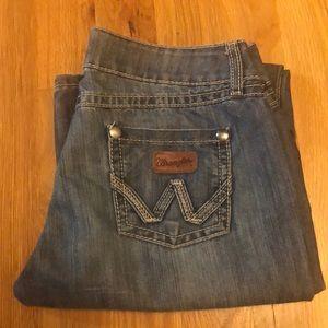 Wrangler Jeans Size 7/8 34 length